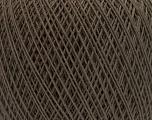 Fiber Content 67% Cotton, 33% Polyester, Brand ICE, Dark Brown, Yarn Thickness 1 SuperFine  Sock, Fingering, Baby, fnt2-49694