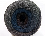 Fiber Content 90% Acrylic, 10% Polyamide, Pink, Brand ICE, Grey Shades, Blue Shades, Yarn Thickness 4 Medium  Worsted, Afghan, Aran, fnt2-50148