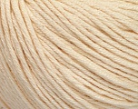 Fiber Content 60% Bamboo, 40% Cotton, Brand ICE, Dark Cream, Yarn Thickness 3 Light  DK, Light, Worsted, fnt2-50539