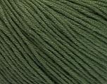 Fiber Content 60% Bamboo, 40% Cotton, Brand ICE, Dark Khaki, Yarn Thickness 3 Light  DK, Light, Worsted, fnt2-50540