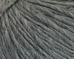 Fiber Content 70% Acrylic, 30% Wool, Brand ICE, Grey Melange, Yarn Thickness 4 Medium  Worsted, Afghan, Aran, fnt2-50851