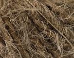 Fiber Content 40% Polyamide, 36% Acrylic, 24% Wool, Light Brown, Brand ICE, Camel, Yarn Thickness 4 Medium  Worsted, Afghan, Aran, fnt2-51729