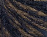 Fiber Content 40% Polyamide, 36% Acrylic, 24% Wool, Navy, Brand ICE, Brown, Yarn Thickness 4 Medium  Worsted, Afghan, Aran, fnt2-51731