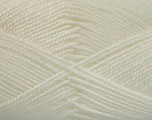 Fiber Content 100% Acrylic, White, Brand Ice Yarns, Yarn Thickness 2 Fine  Sport, Baby, fnt2-52356
