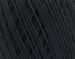 Fiber Content 66% Cotton, 34% Polyamide, Brand ICE, Black, Yarn Thickness 3 Light  DK, Light, Worsted, fnt2-53432
