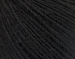 Fiber Content 50% Wool, 50% Acrylic, Brand ICE, Black, Yarn Thickness 3 Light  DK, Light, Worsted, fnt2-53679