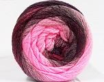 İçerik 90% Akrilik, 10% Polyamid, Pink Shades, Maroon, Brand Ice Yarns, Burgundy, fnt2-53722