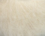 Fiber Content 39% Polyamide, 27% Acrylic, 21% Mohair, 13% Wool, White, Brand ICE, Yarn Thickness 3 Light  DK, Light, Worsted, fnt2-53902