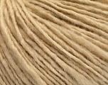 Fiber Content 55% Acrylic, 45% Wool, Brand ICE, Dark Cream, Yarn Thickness 4 Medium  Worsted, Afghan, Aran, fnt2-53944
