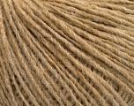 Fiber Content 50% Wool, 50% Acrylic, Light Camel, Brand ICE, Yarn Thickness 3 Light  DK, Light, Worsted, fnt2-53954