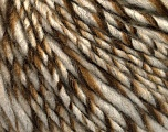 Fiber Content 90% Acrylic, 10% Wool, Brand ICE, Cream, Brown Shades, fnt2-54019