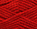 Fiber Content 60% Acrylic, 40% Wool, Red, Brand ICE, fnt2-54313