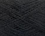 Fiber Content 100% Polyamide, Brand ICE, Black, Yarn Thickness 2 Fine  Sport, Baby, fnt2-54551