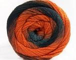 İçerik 90% Akrilik, 10% Polyamid, Orange, Brand Ice Yarns, Grey, Black, fnt2-55619