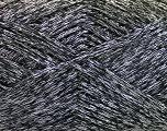 Fiber Content 44% Cotton, 44% Acrylic, 12% Polyamide, Silver, Brand ICE, Black, Yarn Thickness 2 Fine  Sport, Baby, fnt2-56005