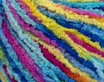 Fiber Content 100% Polyamide, Yellow, Turquoise, Pink, Brand ICE, Blue, Yarn Thickness 3 Light  DK, Light, Worsted, fnt2-56115