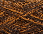 Fiber Content 44% Acrylic, 44% Wool, 12% Polyamide, Brand ICE, Copper, Brown, Yarn Thickness 2 Fine  Sport, Baby, fnt2-56190