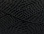 Fiber Content 50% SuperFine Nylon, 50% SuperFine Acrylic, Brand ICE, Black, Yarn Thickness 4 Medium  Worsted, Afghan, Aran, fnt2-56279