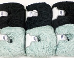 Fiber Content 100% Polyester, Mixed Lot, Brand ICE, Yarn Thickness 1 SuperFine  Sock, Fingering, Baby, fnt2-56459