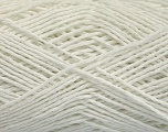 Fiber Content 100% Cotton, White, Brand ICE, Yarn Thickness 2 Fine  Sport, Baby, fnt2-56498