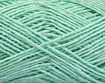 Fiber Content 100% Cotton, Mint Green, Brand ICE, Yarn Thickness 2 Fine  Sport, Baby, fnt2-56511