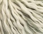 Fiber Content 78% Wool, 22% Acrylic, Brand ICE, Grey, Cream, fnt2-56666