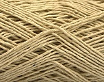 Fiber Content 100% Cotton, Brand ICE, Beige, Yarn Thickness 2 Fine  Sport, Baby, fnt2-56714