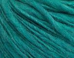 Fiber Content 55% Acrylic, 45% Wool, Brand ICE, Emerald Green, Yarn Thickness 4 Medium  Worsted, Afghan, Aran, fnt2-57000