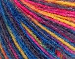 Fiber Content 100% Acrylic, Yellow, Purple, Pink, Brand ICE, Blue, fnt2-57136