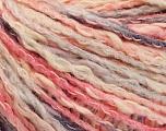 Fiber Content 50% Acrylic, 50% Cotton, Pink Shades, Brand ICE, Grey, Cream, Yarn Thickness 4 Medium  Worsted, Afghan, Aran, fnt2-57279