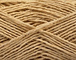 Fiber Content 100% Cotton, Brand ICE, Beige, Yarn Thickness 2 Fine  Sport, Baby, fnt2-57299