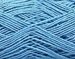 Fiber Content 100% Cotton, Light Blue, Brand ICE, Yarn Thickness 2 Fine  Sport, Baby, fnt2-57317