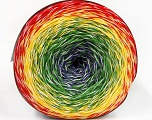 Fiber Content 50% Acrylic, 50% Cotton, Yellow, White, Red, Purple, Brand ICE, Green, Yarn Thickness 2 Fine  Sport, Baby, fnt2-57330