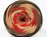 Fiber Content 50% Cotton, 50% Acrylic, Salmon, Pink, Brand ICE, Camel, Brown, Beige, Yarn Thickness 2 Fine  Sport, Baby, fnt2-57333