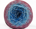 Fiber Content 75% Superwash Wool, 25% Polyamide, Orchid, Brand ICE, Grey, Blue Shades, Yarn Thickness 1 SuperFine  Sock, Fingering, Baby, fnt2-57339