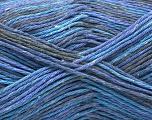 Fiber Content 100% Acrylic, Lavender, Brand ICE, Grey, Blue, Yarn Thickness 2 Fine  Sport, Baby, fnt2-57348