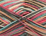 Fiber Content 100% Acrylic, Yellow, Salmon, Pink, Mint Green, Brand ICE, Grey, Yarn Thickness 2 Fine  Sport, Baby, fnt2-57352
