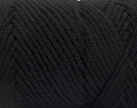 Items made with this yarn are machine washable & dryable. Fiber Content 100% Acrylic, Brand ICE, Black, Yarn Thickness 4 Medium  Worsted, Afghan, Aran, fnt2-57401