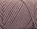 Items made with this yarn are machine washable & dryable. Fiber Content 100% Acrylic, Light Maroon, Brand ICE, Yarn Thickness 4 Medium  Worsted, Afghan, Aran, fnt2-57439