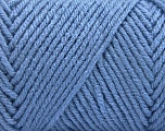 Items made with this yarn are machine washable & dryable. Fiber Content 100% Acrylic, Indigo Blue, Brand ICE, Yarn Thickness 4 Medium  Worsted, Afghan, Aran, fnt2-57440