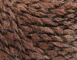 Fiber Content 50% Wool, 50% Acrylic, Brand ICE, Brown, fnt2-57462