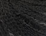 Fiber Content 90% Acrylic, 10% Polyamide, Brand ICE, Grey, Black, Yarn Thickness 2 Fine  Sport, Baby, fnt2-57704