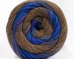 İçerik 90% Akrilik, 10% Polyamid, Purple, Brand ICE, Brown, Blue Shades, fnt2-57783