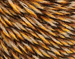 İçerik 50% Akrilik, 50% Yün, Brand ICE, Gold, Brown, Black, Beige, Yarn Thickness 3 Light  DK, Light, Worsted, fnt2-57866