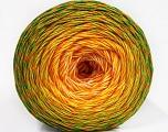 İçerik 50% Akrilik, 50% Pamuk, Yellow, White, Orange, Brand ICE, Green Shades, Yarn Thickness 2 Fine  Sport, Baby, fnt2-57926