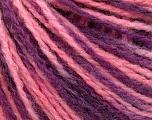 İçerik 50% Yün, 50% Akrilik, Purple Shades, Pink, Brand ICE, fnt2-57930