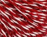 İçerik 50% Akrilik, 50% Yün, White, Red, Brand ICE, fnt2-57993