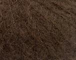 Knitted as 4 ply İçerik 40% Polyamid, 30% Akrilik, 30% İnce Tiftik, Brand ICE, Dark Brown, Yarn Thickness 1 SuperFine  Sock, Fingering, Baby, fnt2-58074