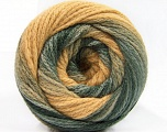İçerik 90% Akrilik, 10% Polyamid, Light Camel, Brand ICE, Grey Shades, Yarn Thickness 4 Medium  Worsted, Afghan, Aran, fnt2-58122