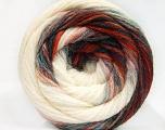 İçerik 90% Akrilik, 10% Polyamid, Red, Brand ICE, Green, Cream, Blue, Yarn Thickness 4 Medium  Worsted, Afghan, Aran, fnt2-58126